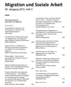 Migration und Soziale Arbeit_Inhalt